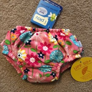 NWT Baby Girl Floral iplay Swim Diaper Bottoms